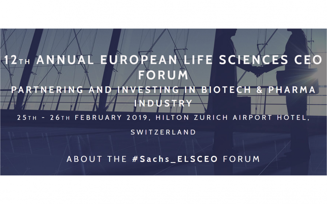 CEO Surge-on Medical at Sachs ELSCEO Forum in Zurich